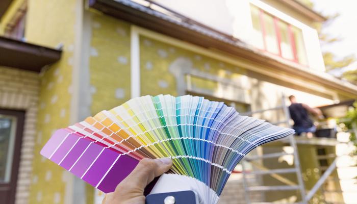 couleur peinture facade