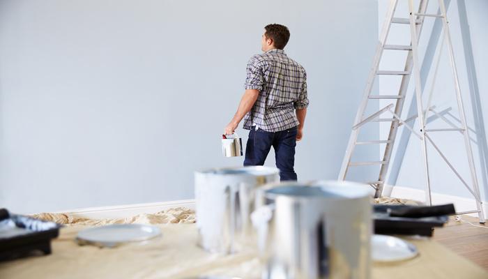 finition peinture interieure